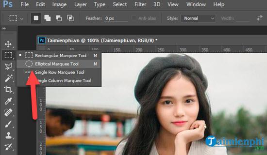 Cách cắt ảnh hình tròn trong Photoshop CS6, CC 2020, CC 2019