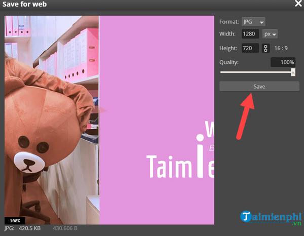 Cách sử dụng Photoshop Online