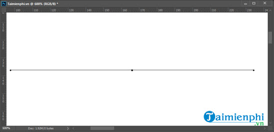 Cách vẽ đường thẳng, đường cong trong Photoshop