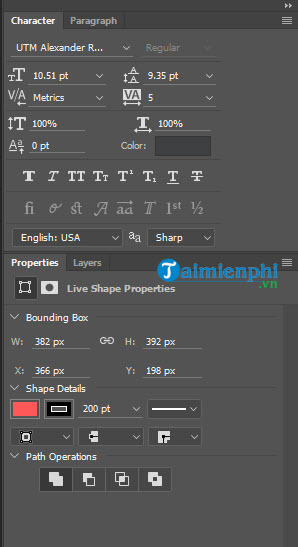 Cách vẽ hình tròn trong Photoshop trên máy tính