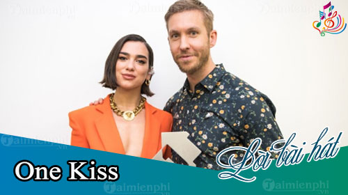 loi bai hat one kiss