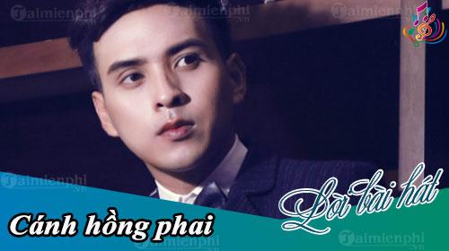 loi bai hat canh hong phai