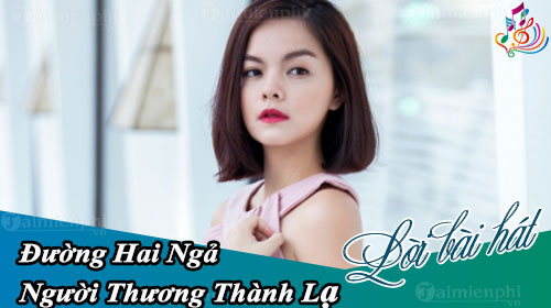 loi bai hat duong hai nga nguoi thuong thanh la