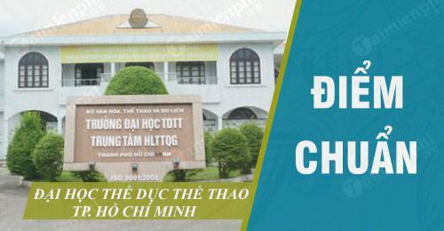 diem chuan dai hoc the duc the thao tp ho chi minh