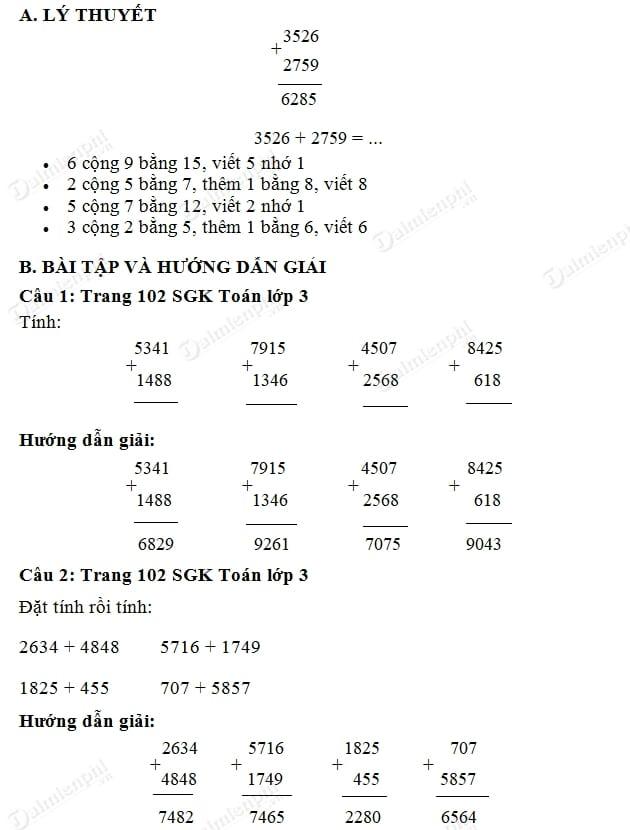 bai giai phep cong cac so trong pham vi 10000