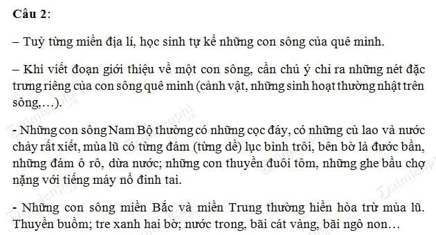 Soạn bài  Sông nước Cà Mau, Ngữ văn lớp 6