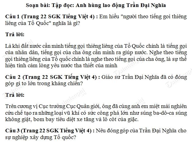 soan bai anh hung lao dong tran dai nghia