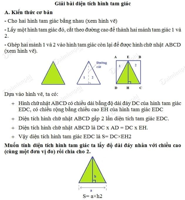 Giải Toán lớp 5 trang 88, Giải bài 1, 2 SGK