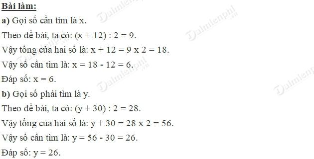 Giải bài tập trang 28 SGK toán 4