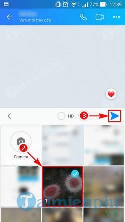 Cách chụp màn hình và gửi lên Zalo tới bạn bè 6