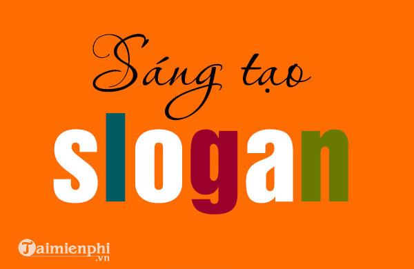 slogan hay, vui nhon