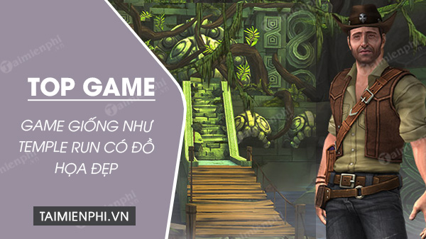 top game hay nhu temple run