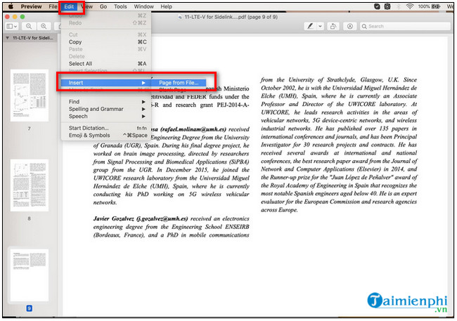 cat ghep file pdf tren macbook