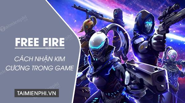 cach nhan kim cuong garena free fire