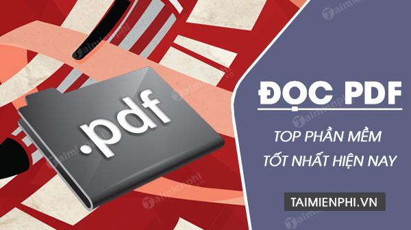 top phan mem doc file pdf tot nhat
