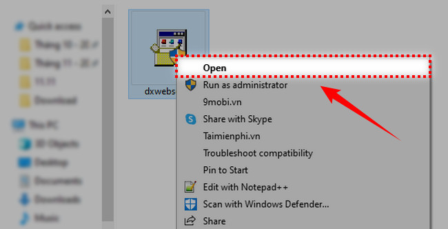 Instructions for installing the latest DirectX version