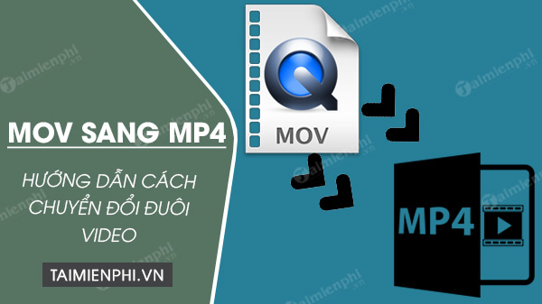 cach doi duoi video mov sang mp4