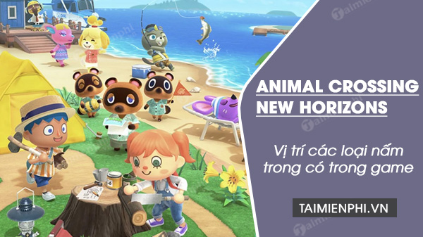 vi tri nam trong animal crossing new horzizones