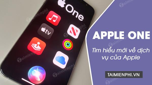 apple one la gi