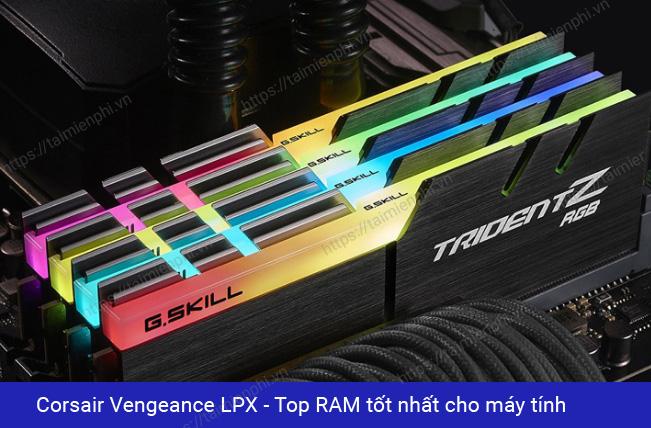 Top RAM tốt nhất cho máy tính