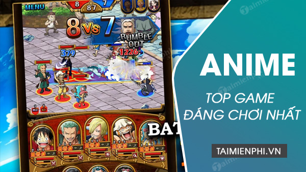 top game anime dinh nhat