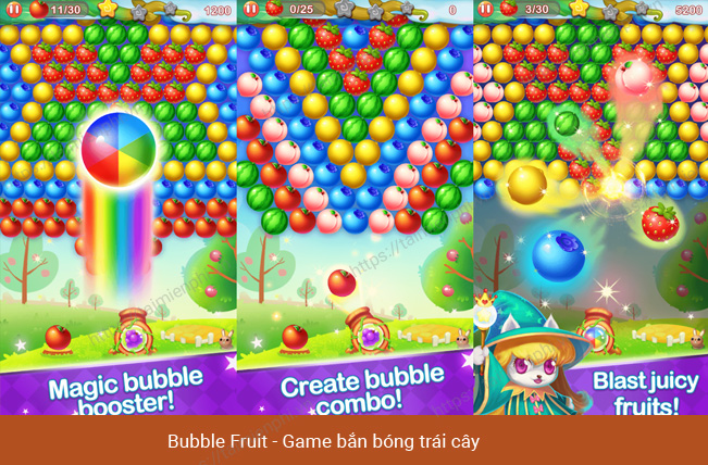 Top game hoa quả hấp dẫn