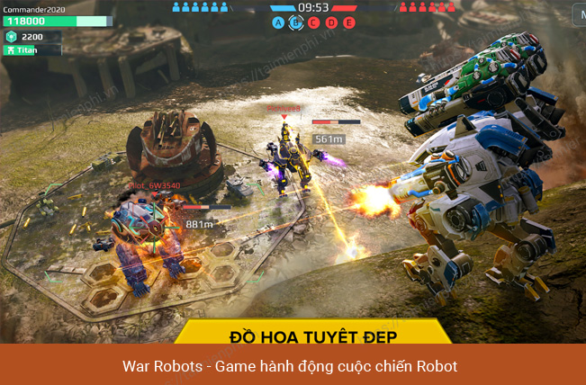 robot game for mobile phones
