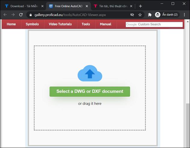 Cách mở file DWG không cần cài AutoCAD