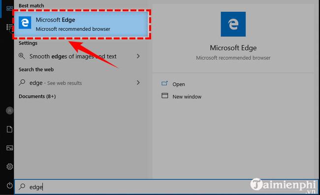 Xóa lịch sử duyệt web trên Windows 10
