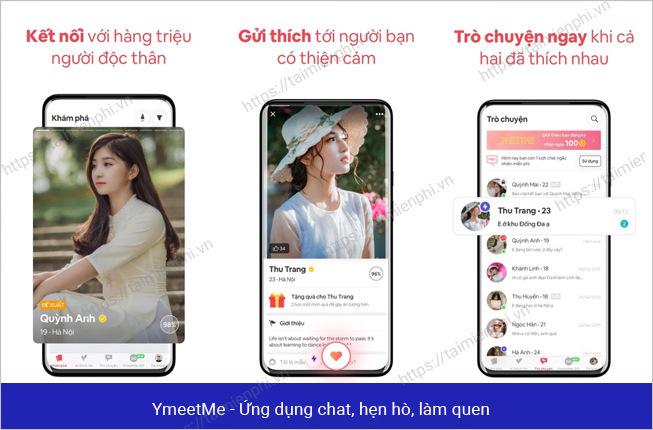 Hen ho web Trang web