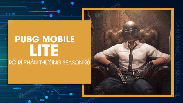 pubg mobile lite season 20