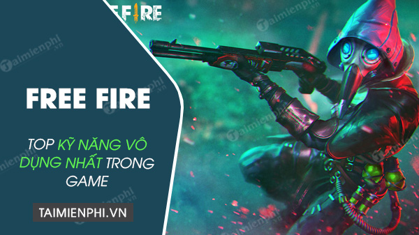 top free fire skills in free fire