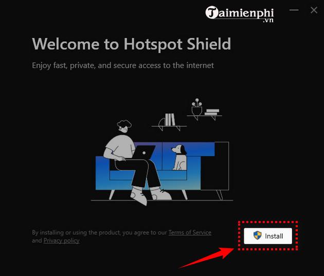 cai dat hotspot shield