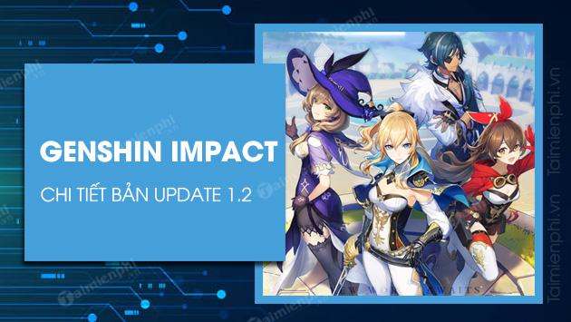details you update genshin impact 1 2