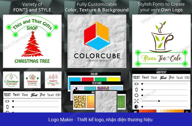 ung dung thiet ke logo cho dien thoai