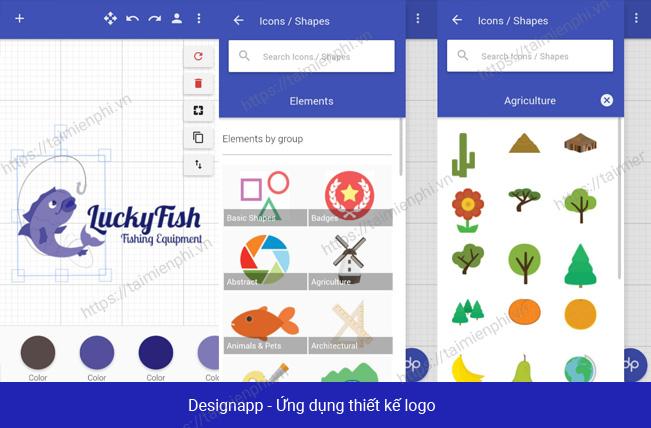 5 Ứng dụng thiết kế logo trên điện thoại tốt nhất