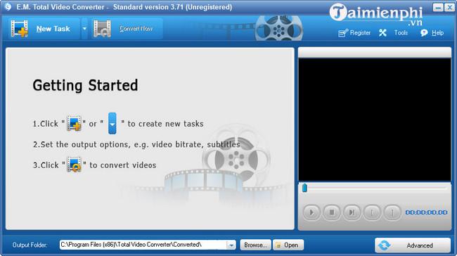cai dat Total Video Converter tren pc