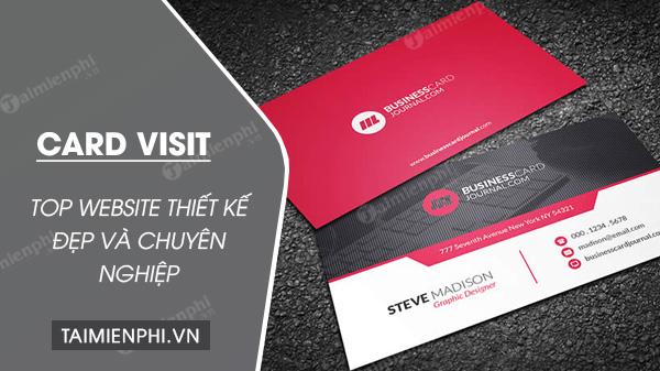 top website thiet ke card visit dep va chuyen nghiep