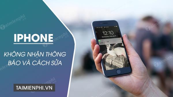 cach sua loi iphone khong hien thong bao