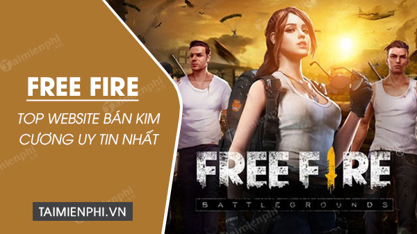 top website ho tro mua kim cuong trong game free fire tot nhat