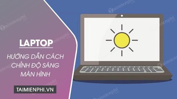 sua loi chinh do sang man hinh laptop