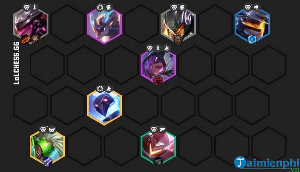 Cách build đội hình siêu công nghệ ĐTCL 10.12, Vô Hạ Thiên Hà 2 5
