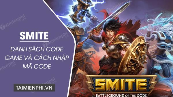 code game smite