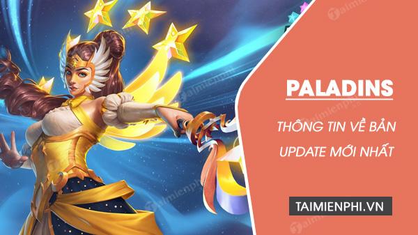 ban update game paladins moi nhat nhung ngoi sao rang ro se troi day