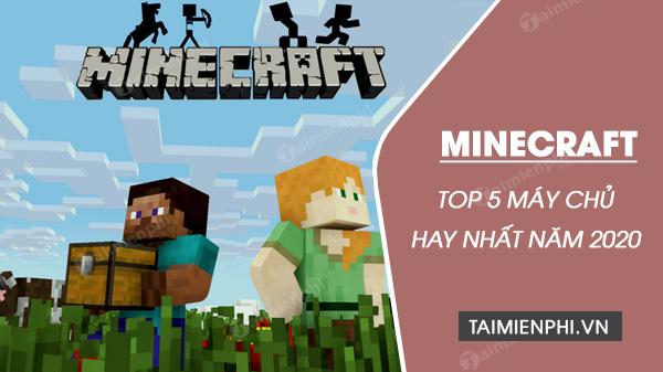 top 5 server minecraft hay nhat khong nen bo qua
