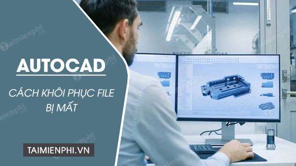 Directs the most simple autocad file recovery