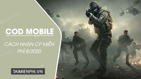cach nhan cp mien phi trong call of duty