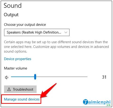 Cách sửa lỗi máy tính bị mất âm thanh, laptop không có tiếng 24