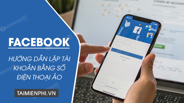 Instructions on how to set up a Facebook account with your cell phone number