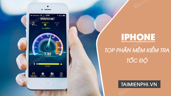 huong dan kiem tra toc do internet cho iphone